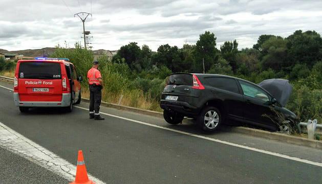 Imagen del coche implicado en el suceso.