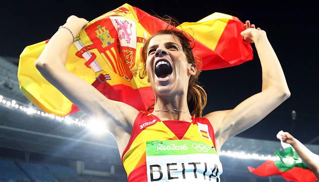 Ruth Beitia corona su carrera con el oro olímpico