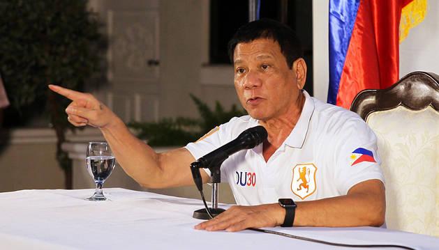 El presidente de Filipinas amenaza con salir de la ONU