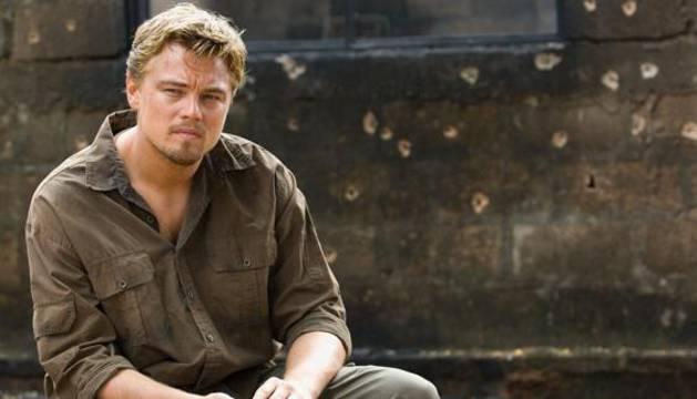DiCaprio en la película 'Diamantes de sangre'.