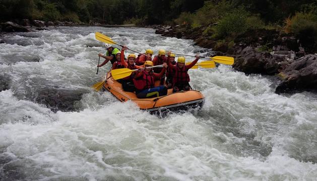 Rafting e hidrospeed, propuestas del programa multiaventura para el sábado