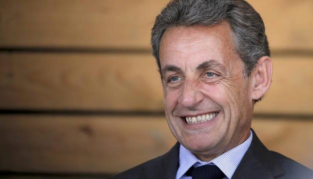 Nicolas Sarkozy, exjefe de Estado francés.