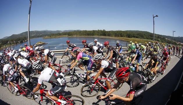 Imagen de la tercera etapa de la Vuelta.