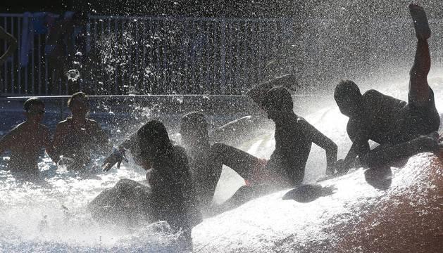 El calor no dará respiro en los próximos días en Navarra.