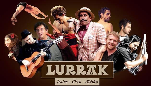 El encargado de cerrar el festival será el grupo Lurrak, que actuará en la Ciudadela a partir de las 9 de la noche, con entrada libre.