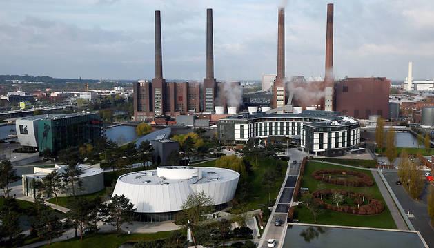 Vista general de la planta de Volkswagen en Wolfsburg, Alemania.
