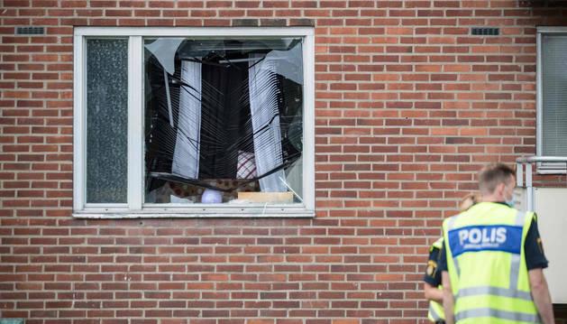Muere en Suecia un niño de ocho años al ser alcanzado por una granada en su casa