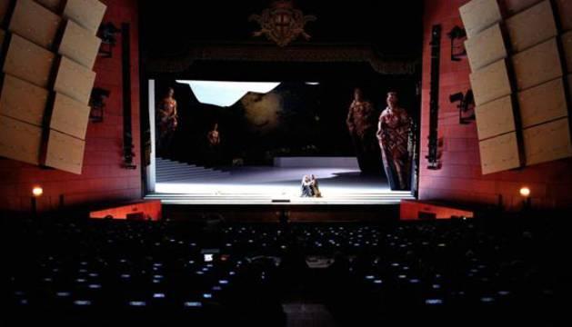Teatro Arcimboldi de Milán.