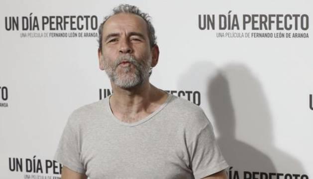 Willy Toledo durante el estreno de 'Un día perfecto'.