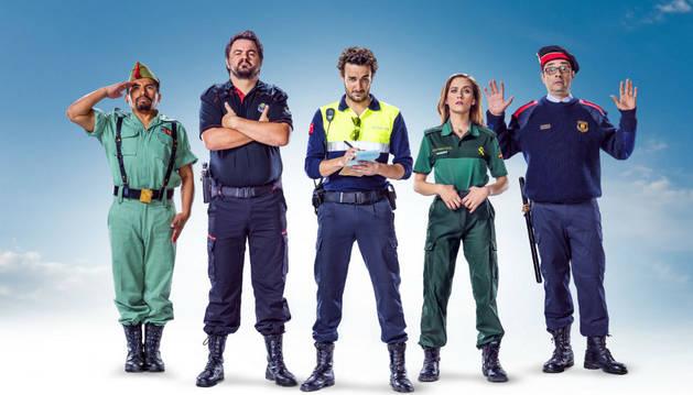 Imagen promocional de 'Cuerpo de elite'.