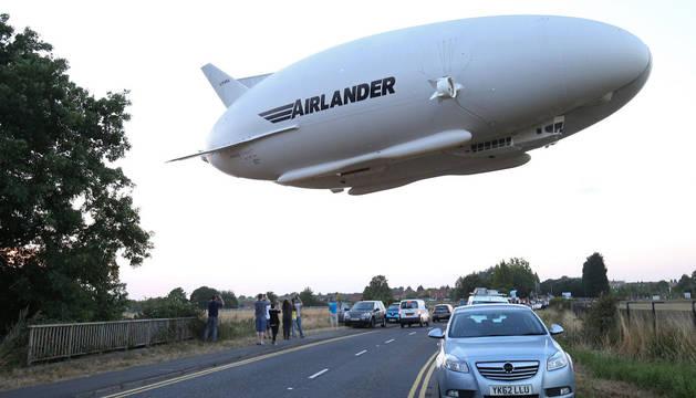 Airlander 10, la aeronave más grande del mundo.