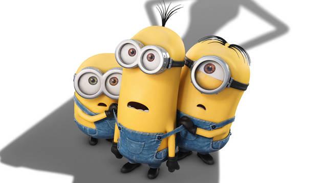 Los protagonistas de la película 'Los Minions'.