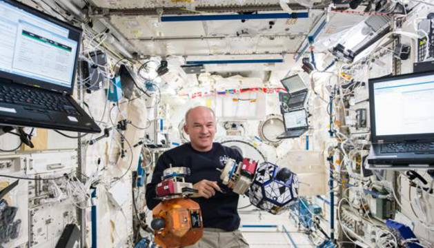 El astronauta estadounidense Jeff Williams.