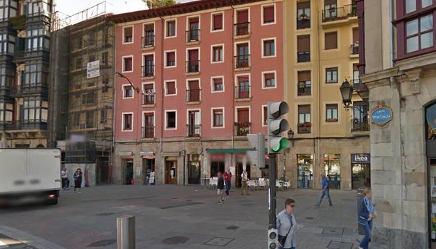 El suceso tuvo lugar entre las calles Esperanza y Sendeja de Bilbao.