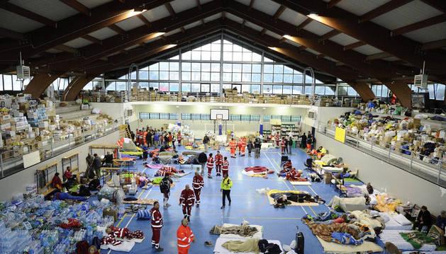 1.200 personas han pasado la noche en tiendas tras el terremoto en Italia