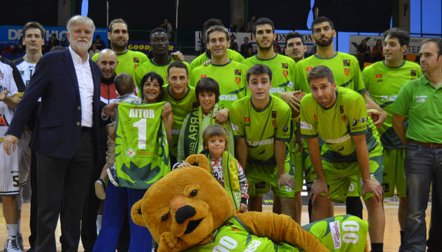 El Basket Navarra Club.