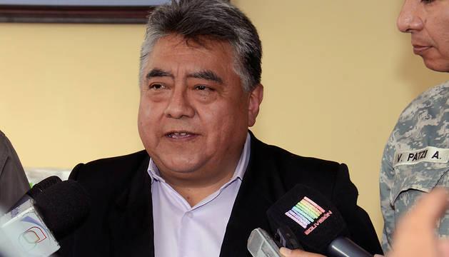 El viceministro de Régimen Interior asesinado, Rodolfo Illanes.