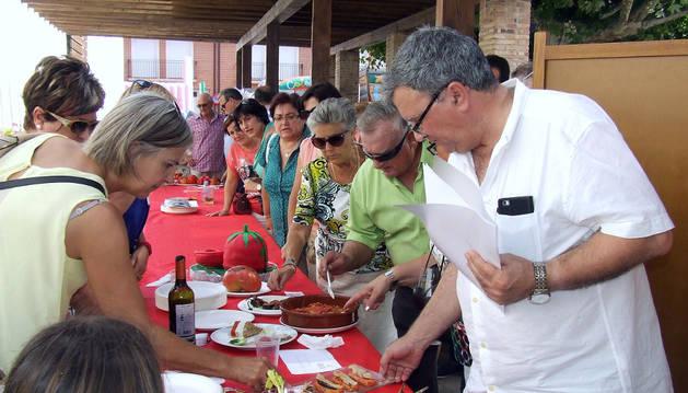 Imagen de la fiesta del Día del Tomate celebrada el pasado 2015.