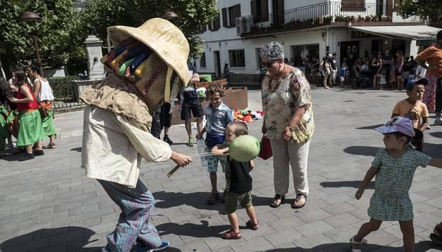 Fiestas de Lakuntza. 27 de agosto 2016