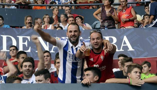 Búscate en la grada Osasuna- Real Sociedad I