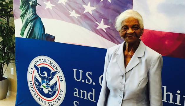 May García se ha hecho ciudadana estadounidense.