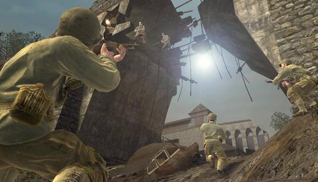 Fotograma del videojuego 'Call of Duty'.