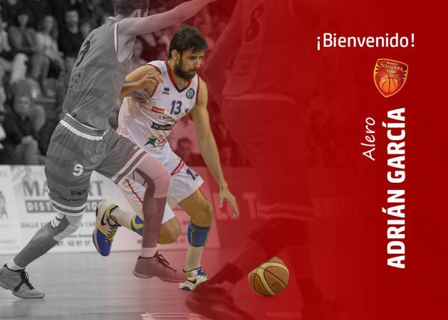 Adrián García, nuevo fichaje de Basket Navarra.