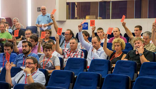 Asamblea con oposición