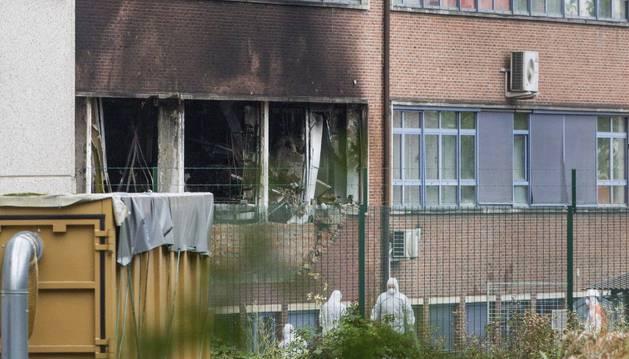 Libertad para los cinco sospechosos de un incendio en Bruselas