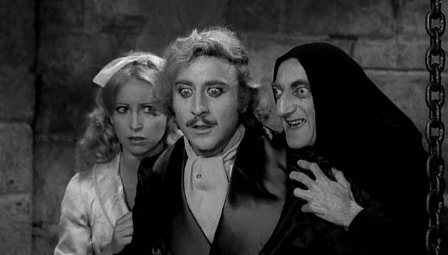 Gene Wilder en 'El Jovencito Frankenstein'.