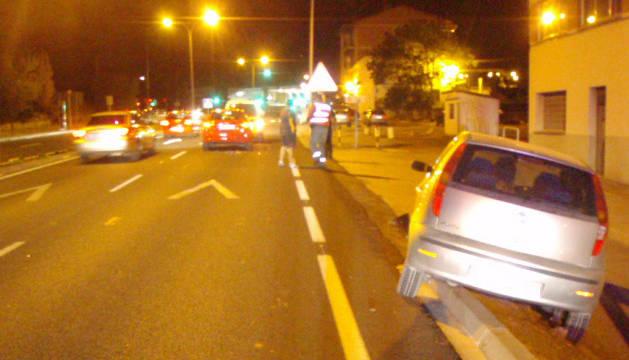 Accidente en la Autovía del Camino.