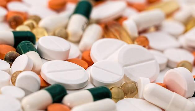 Imagen de medicamentos.