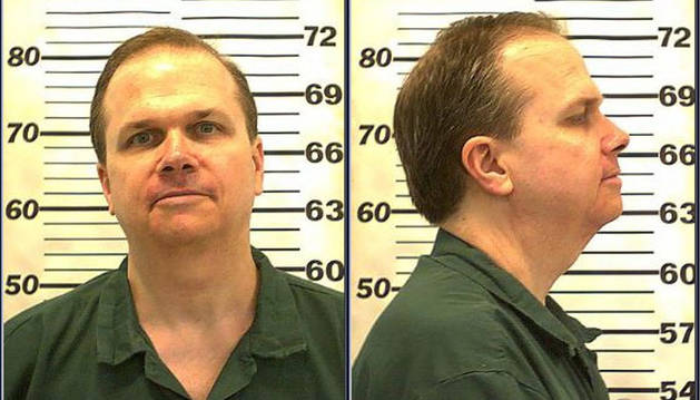 Fotografía de archivo cedida por el Departamento Correccional de Nueva York de julio de 2010 donde se ve a Mark David Chapman.