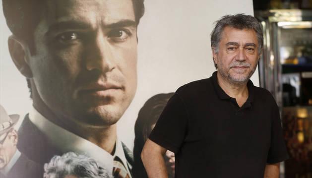 El director Antonio Chavarria, en la presentación de la película 'El elegido'.