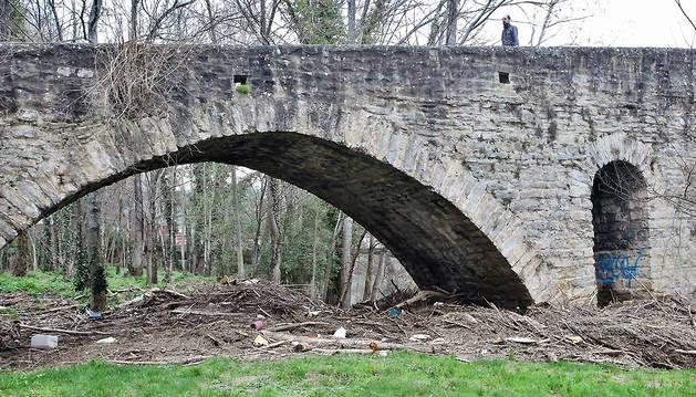 Inmediaciones del puente de la Magdalena, entorno donde se desarrollará la actividad.