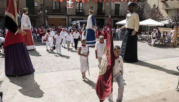 Fiestas de Lumbier. 31 agosto 2016