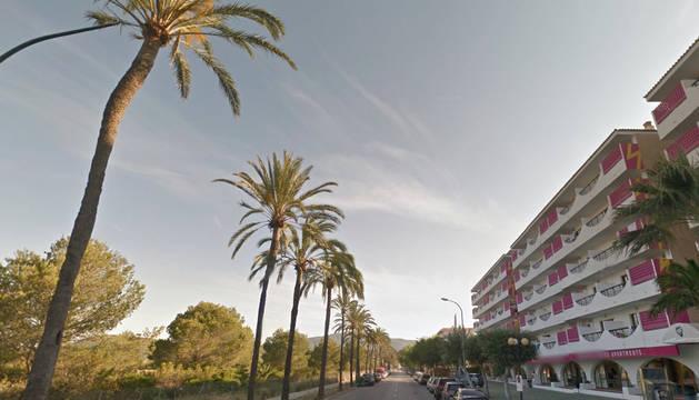 El suceso ha ocurrido en un hotel situado en la avenida de las Palmeras.