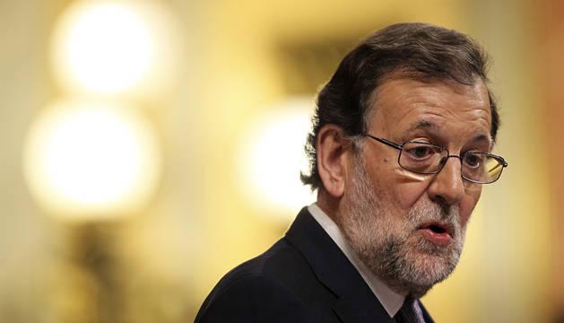 Mariano Rajoy, en el Congreso.