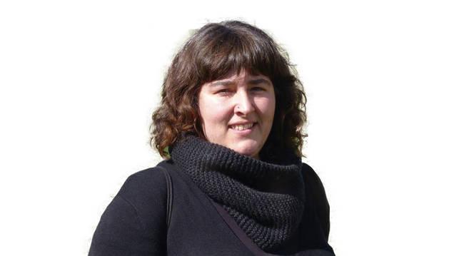 Amaia Etxarte Iturralde, portavoz de EH Bildu y concejal delegada de Euskera.