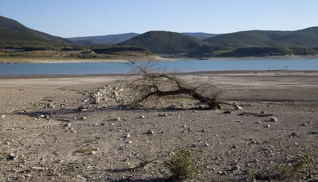 Disminución del caudal de los ríos navarros