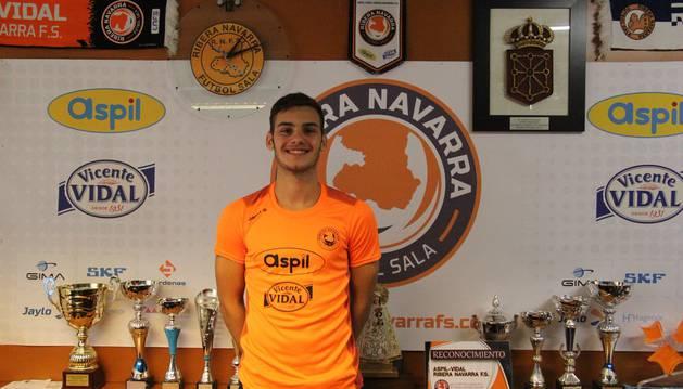 Kostas, último fichaje del Aspil-Vidal.