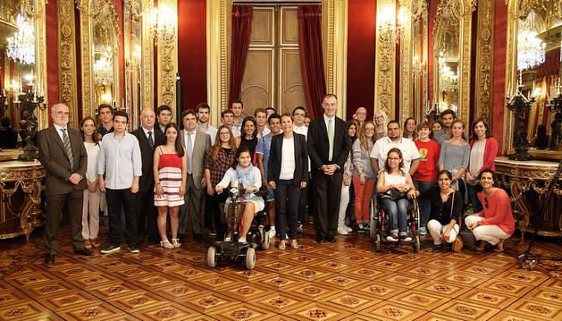 Foto de familia de la anterior edición de 'Campus inclusivos'.