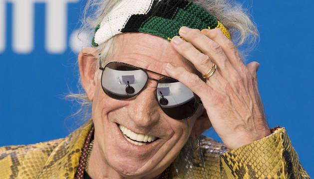 Keith Richards, guitarrista de The Rolling Stones.