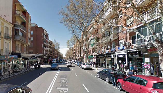 Imagen del barrio Pueblo Nuevo de Madrid.