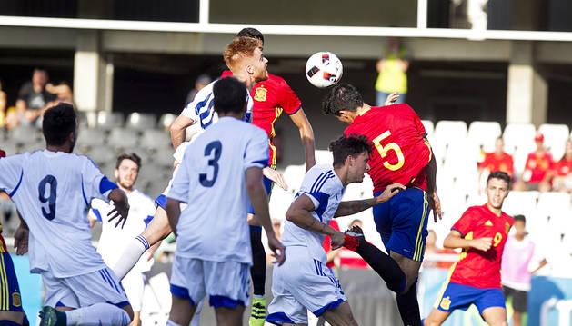 La España de Merino cumple el trámite contra San Marino