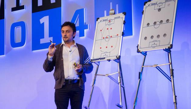 El ingeniero de Telecomunicación Pablo Rodríguez, antiguo alumno de la UPNA.