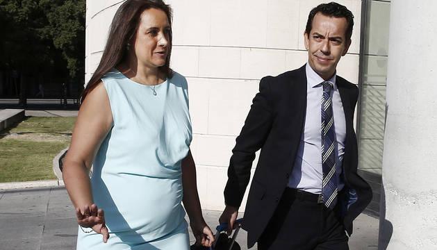 La letrada Carmen Sala, abogada de dos de los cinco procesados por la violación.