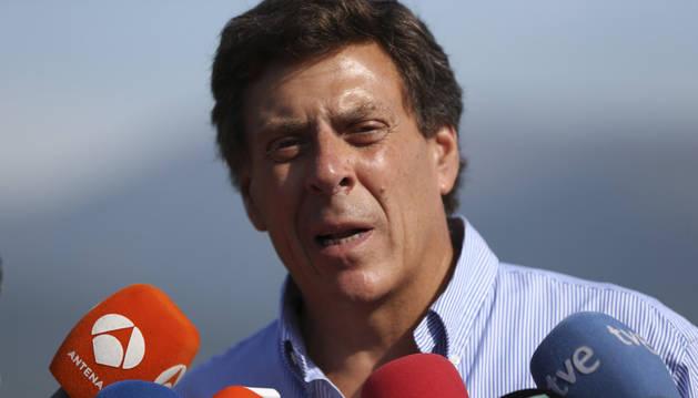 Juan Carlos Quer, el padre de Diana, la joven de 18 años desaparecida hace once días en A Pobra do Caramiña.