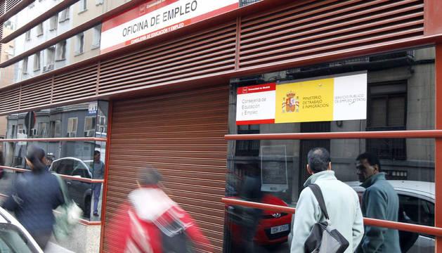 Una Oficina de Empleo de Madrid.