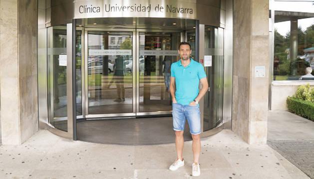Javi Flaño, operado con éxito de la rodilla izquierda